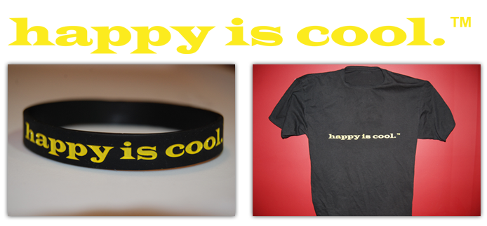 Happyness is Cool Wristband